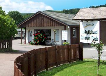 Lochgilphead Caravan Park, Argyll,Argyll and Bute,Scotland