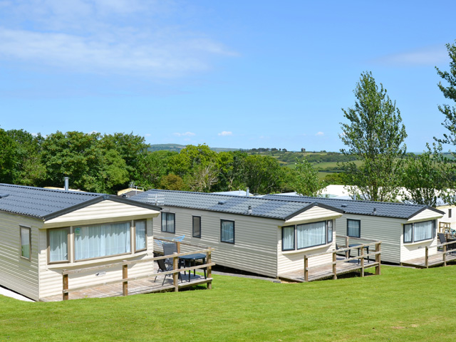 Carnmoggas Holiday Park, St. Austell,Cornwall,England