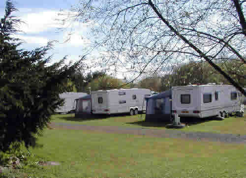 Black Lion Caravan and Camping Park, Llanelli,Carmarthenshire,Wales