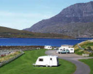 Ardmair Point Caravan and Camping Park, Ullapool,Highlands,Scotland