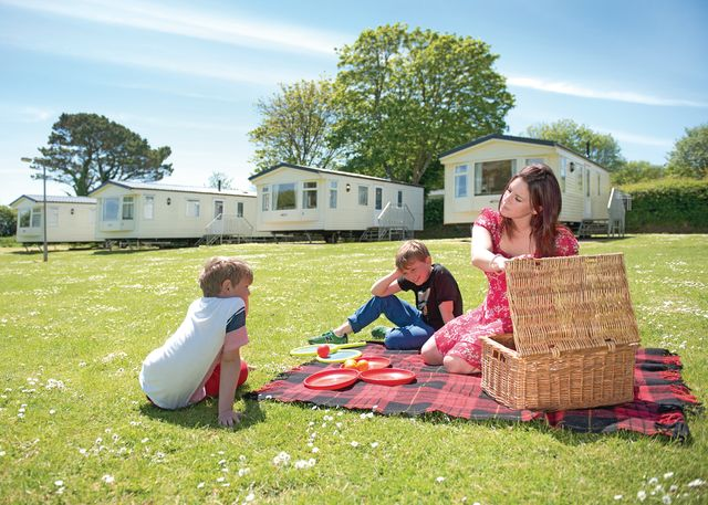 South Bay Holiday Park, Brixham,Devon,England
