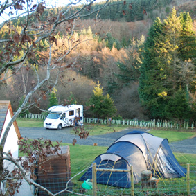 Graig Wen Touring Camp Site