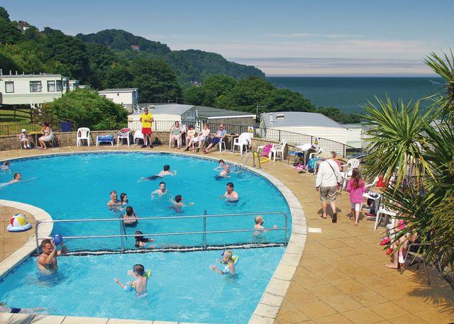 Sandaway Beach Holiday Park, Combe Martin,Devon,England
