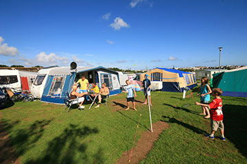 Trenance Holiday Park, Newquay,Cornwall,England